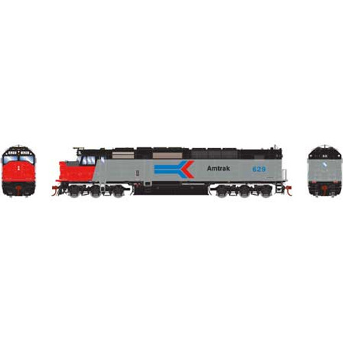 Athearn ATHG64001 SDP40F AMTK - Amtrak #629 with DCC & Sound Tsunami2  (SCALE=HO)  Part #ATHG64001