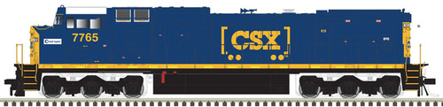 Atlas 10003138 GE Dash 8-40CW - CSX - Chessie Heritage Decal #7765 - DCC & Sound (Scale=HO) Part#150-10003138