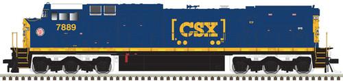 Atlas 10003139 GE Dash 8-40CW - CSX - ACL Heritage Decal #7889 - DCC & Sound (Scale=HO) Part#150-10003139