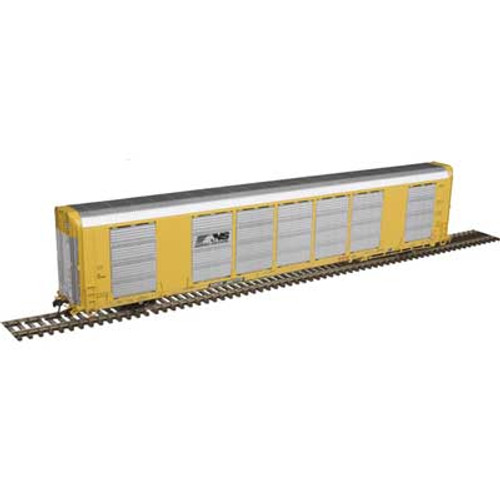 Atlas {20006191} Gunderson Multi-Max Auto Rack NS - Norfolk Southern - TOCX  #697842 (Scale=HO) Part#150-20006191