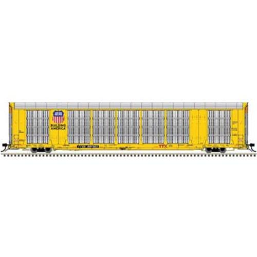 Atlas {20006195} Gunderson Multi-Max Auto Rack UP - Union Pacific - TTGX  #697363 (Scale=HO) Part#150-20006195