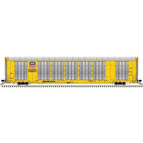 Atlas {20006196} Gunderson Multi-Max Auto Rack UP - Union Pacific - TTGX  #697387 (Scale=HO) Part#150-20006196