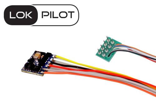 ESU 59820 LokPilot Micro V5.0 DCC decoder, with 8-pin plug according to NEM 652 Part # = ESU-59820