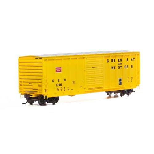 Athearn ATH15909 GB&W - Green Bay & Western #1740 - PS 5277 Single Door Boxcar HO Scale