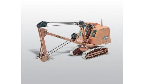 Woodland Scenics 237 Insley Model K Backhoe - Kit -- On Crawler Chassis HO Scale