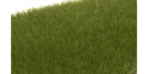 "Woodland Scenics 617 Static Grass - Field System -- Dark Green 1/8""  4mm Fibers A Scale"