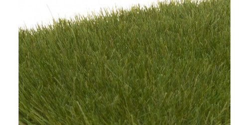 """Woodland Scenics 621 Static Grass - Field System -- Dark Green 1/4""""  7mm Fibers A Scale"""