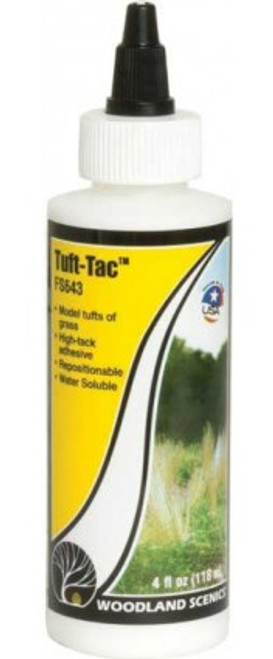 Woodland Scenics 643 Tuft-Tac(TM) - Field System -- 4oz  355mL A Scale