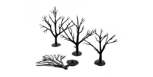 "Woodland Scenics 1122 Deciduous Tree Armatures -- 3 to 5""  7.6 to 12.7cm pkg(28) A Scale"