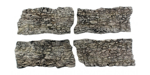 Woodland Scenics 1138 Rock Faces - Ready Rocks -- 4 Pieces A Scale