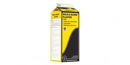 Woodland Scenics 1202 Mold-A-Scene Plaster(TM) -- Dry - 1/2-Gal  1.89L A Scale