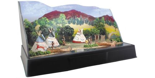 Woodland Scenics 4133 Tepee Village - Scene-A-Rama(TM) -- Kit A Scale