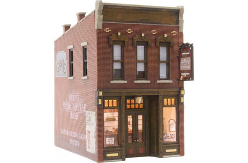 Woodland Scenics 5049 Built-&-Ready Landmark Stuctures(R) Assembled -- Sully's Tavern HO Scale