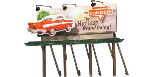 Woodland Scenics 5793 Lighted Billboard - Just Plug(R) -- Hottest Brand HO Scale