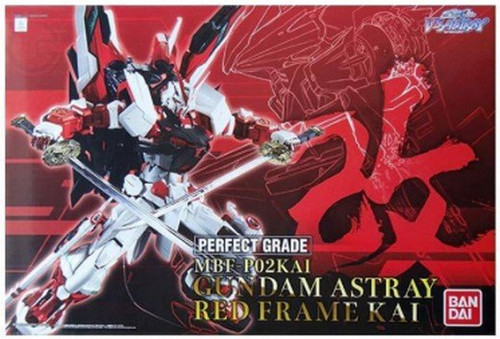 Bandai 228335 MFB-P02KAI Gundam Astray Red Frame KAI Perfect Grade