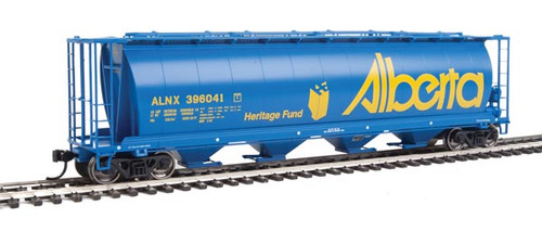 Walthers 910-7802 ALNX - Alberta Heritage Fund #396041 59' Cylindrical Hopper HO Scale