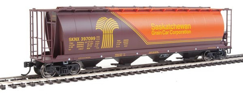 Walthers 910-7831 SKNX - Saskatchewan Grain Car Company #397099 59' Cylindrical Hopper HO Scale