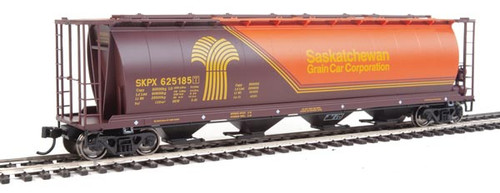 Walthers 910-7834 SKPX - Saskatchewan Grain Car Company #625185 59' Cylindrical Hopper HO Scale