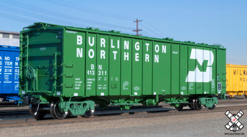 Scaletrains {SXT31971} GATC 4180 Airslide Covered Hopper BN - Burlington Northern #413288 HO Scale