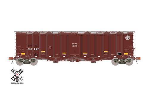 Scaletrains {SXT31996} GATC 4180 Airslide Covered Hopper BNSF - Buffer Service #808257 HO Scale