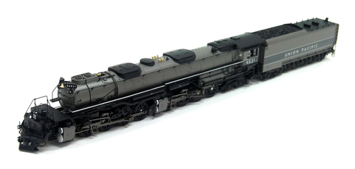BLI 6508 4-8-8-4 UP Big Boy #4021, Two-Tone Gray w/ Aluminum, Wilson Aftercooler, 25-C-400 Tender, Sound/DC/DCC Broadway Limited  HO Scale (Fantasy Paint Scheme)