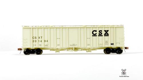 Scaletrains {SXT30677} GATC 4180cf Airslide Covered Hopper CSX #201494 HO Scale
