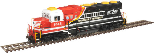 Atlas 10002405 GP38 NS Norfolk Southern First Responders #5642 Gold DCC & Sound HO Scale