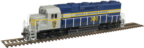 Atlas 10003236 GP38 BAR Bangor & Aroostook #300 Gold DCC & Sound HO Scale