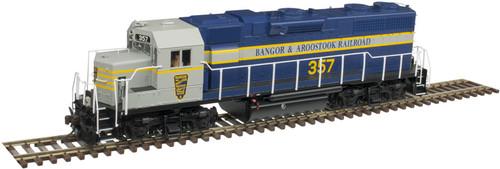Atlas 10003238 GP38 BAR Bangor & Aroostook #357 Gold DCC & Sound HO Scale