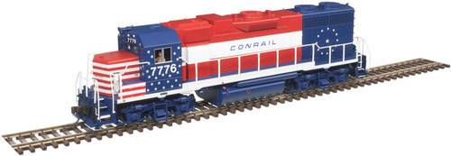 Atlas 10003241 GP38 CR Conrail Bicentennial #7776 Gold DCC & Sound HO Scale