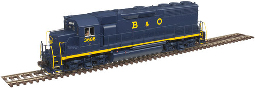 Atlas 10003256 GP40 B&O Baltimore & Ohio #3688 Gold DCC & Sound HO Scale
