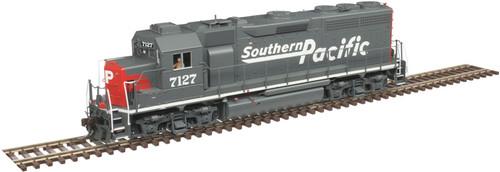 Atlas 10003259 GP40 SP Southern Pacific #7127 Gold DCC & Sound HO Scale