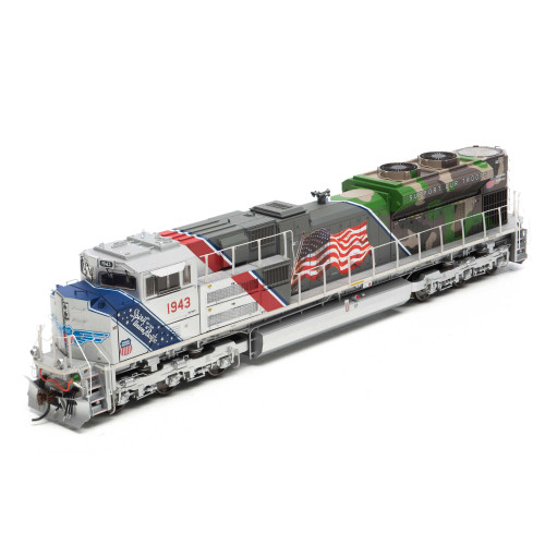 Cyber Holiday  Athearn ATHG01943 SD70ACe UN Union Pacific Spirit of the Union Pacific #1943 with DCC & Sound Tsunami2  HO Scale