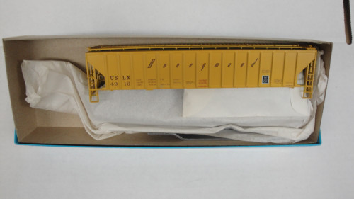 Bev-Bel 2288 54' P.S. Ribside Hopper USLX - Honeymead #4916 HO Scale