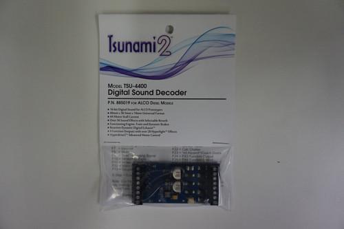 885019 Soundtraxx Tsunami2  TSU-4400 Tsunami2 for ALCO Diesel Ver 1.0