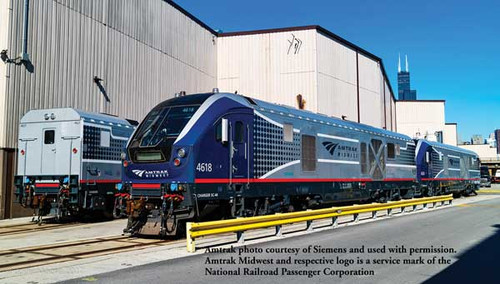 Bachmann 67901 SC-44 Charger Amtrak Midwest #4618 TCS WOW Sound HO Scale