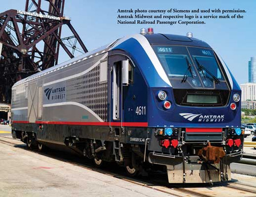 Bachmann 67902 SC-44 Charger Amtrak Midwest #4611 TCS WOW Sound HO Scale