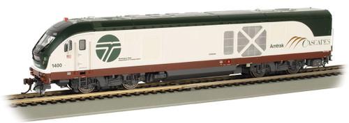 Bachmann 67904 SC-44 Charger Amtrak (Cascades WSDOT) #1400 TCS WOW Sound HO Scale