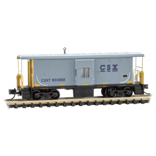 Micro-Trains 13000041 31' Bay Window Caboose CSX #903968 N Scale