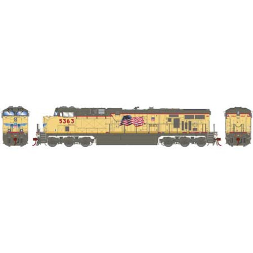 Athearn ATHG83184 GE ES44AC UP - Union Pacific #5363 with DCC & Sound Tsunami2  HO Scale