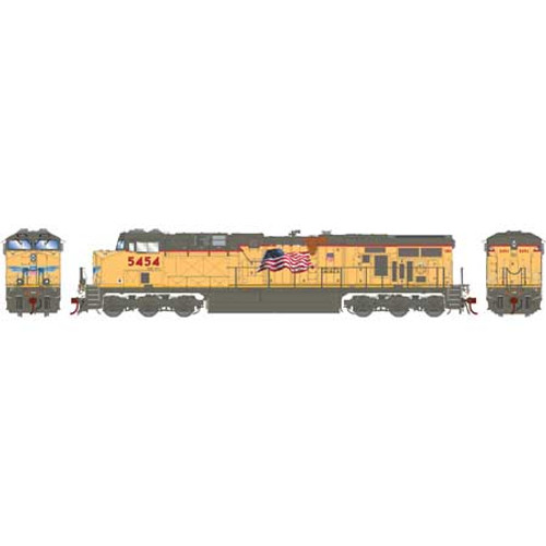 Athearn ATHG83186 GE ES44AC UP - Union Pacific #5454 with DCC & Sound Tsunami2  HO Scale
