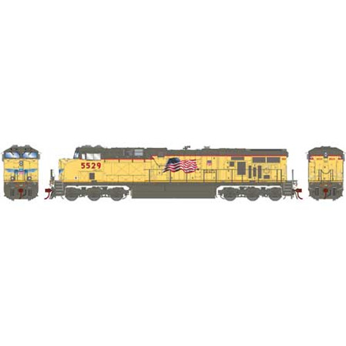 Athearn ATHG83187 GE ES44AC UP - Union Pacific #5529 with DCC & Sound Tsunami2  HO Scale