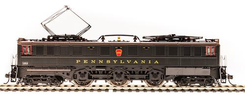 BLI 5933 P5a Boxcab Electric -PRR - Pennsylvania #4730, Paragon 3 DCC & Sound Broadway Limited  HO Scale