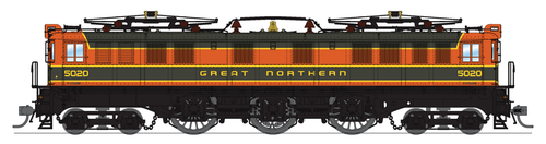 BLI 5941 P5a Boxcab Electric - GN - Great Northern #5020, Paragon 3 DCC & Sound Broadway Limited  HO Scale