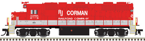 Atlas 10003246 GP38 RJ Corman #3663 Gold DCC & Sound HO Scale