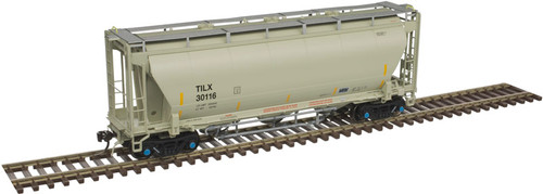 Atlas 20005556 Trinity 3230 Covered Hopper - TILX - Trinity Industries Leasing #30116 HO Scale