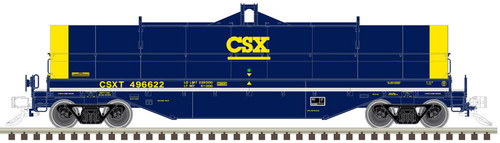 Atlas 20005594 42' Coil Steel  Car - CSX #496625 HO Scale