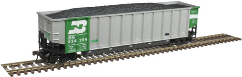 Atlas 20005694 Aluminum Coal Gondola - BN - Burlington Northern #534354 HO Scale