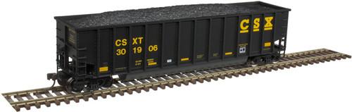 Atlas 20005695 Aluminum Coal Gondola - CSX #300078 HO Scale