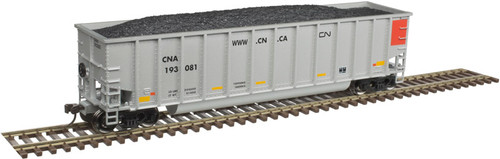 Atlas 20005713 Aluminum Coal Gondola - CN - Canadian National #193187 HO Scale